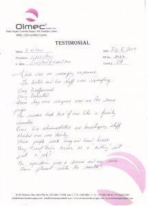 Wilson Testimonial